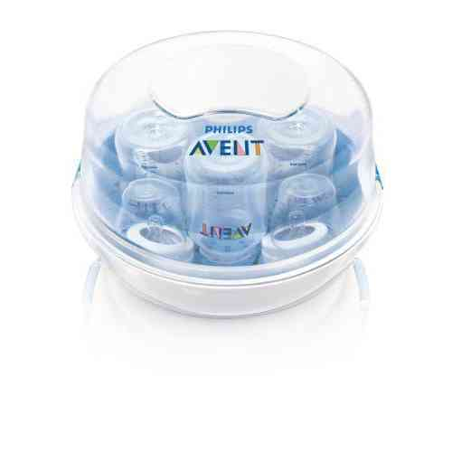 Philips AVENT Microwave Steam Steriliser SCF281/02 Compact Lightweight Fast