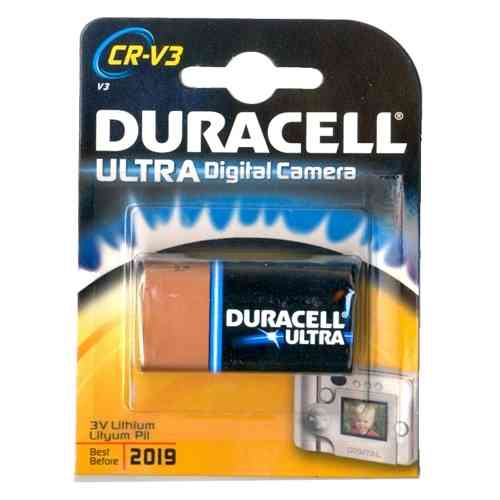 Duracell Ultra Photo CRV3 3V Lithium Camera Battery