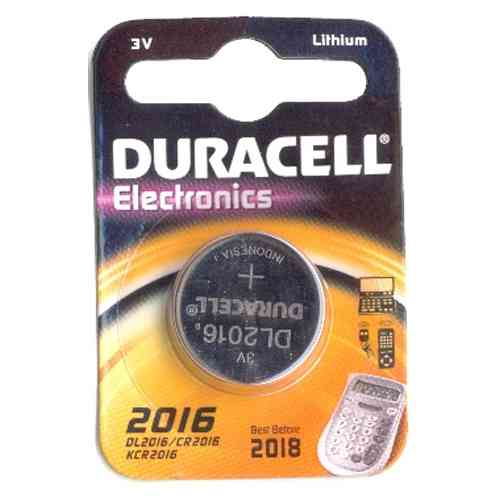 Duracell Cell Battery DL2016