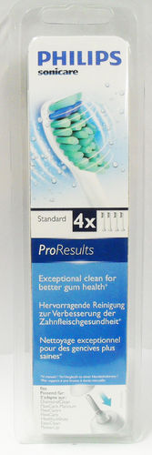 Philips HX6014 Sonicare Pro Results Standard 4 Pack Brush heads Sonic Toothbrush