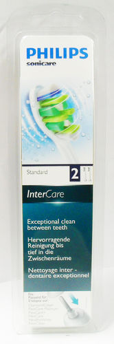 Philips Sonicare InterCare Standard sonic toothbrush heads twin pack