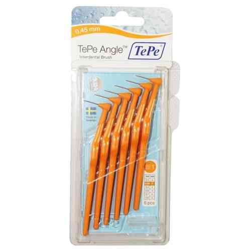 Tepe Angle Orange 0.45mm 6 Pack
