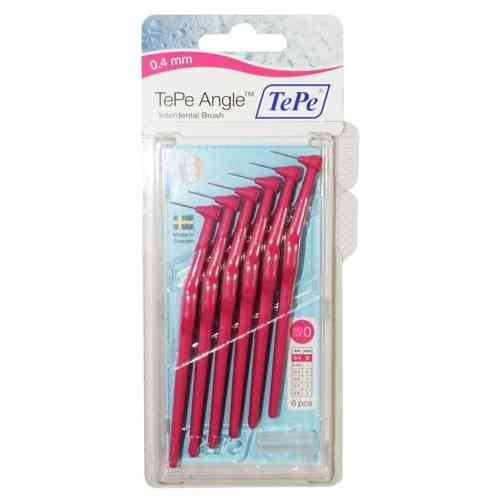 Tepe Angle Pink 0.4mm 6 Pack