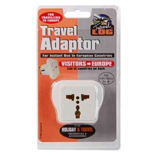 Travel Adaptor Visitors - Europe