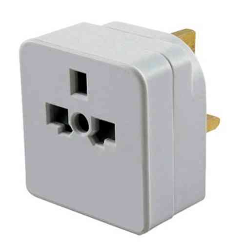 Travel Tourist Adaptor- Universal Vistors to UK
