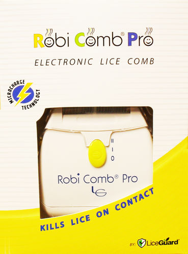 Robi Comb Pro Detects & Kills Lice