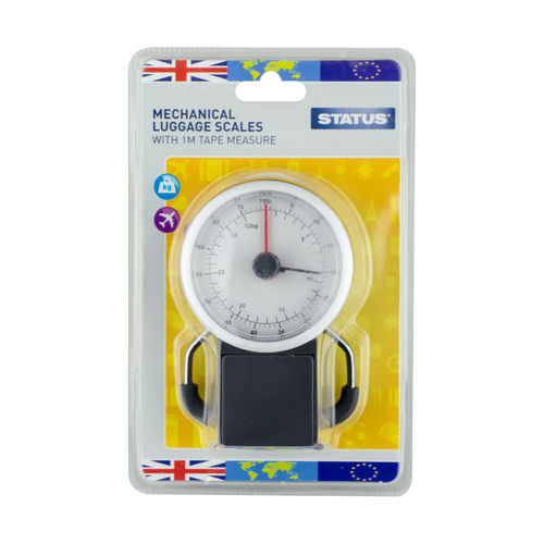 Status Mechanical Luggage scales With 1M Tape Measure
